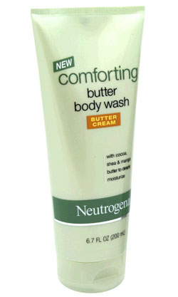 Doing Drugstore: Neutrogena Comforting Butter Body Wash in Butter Cream