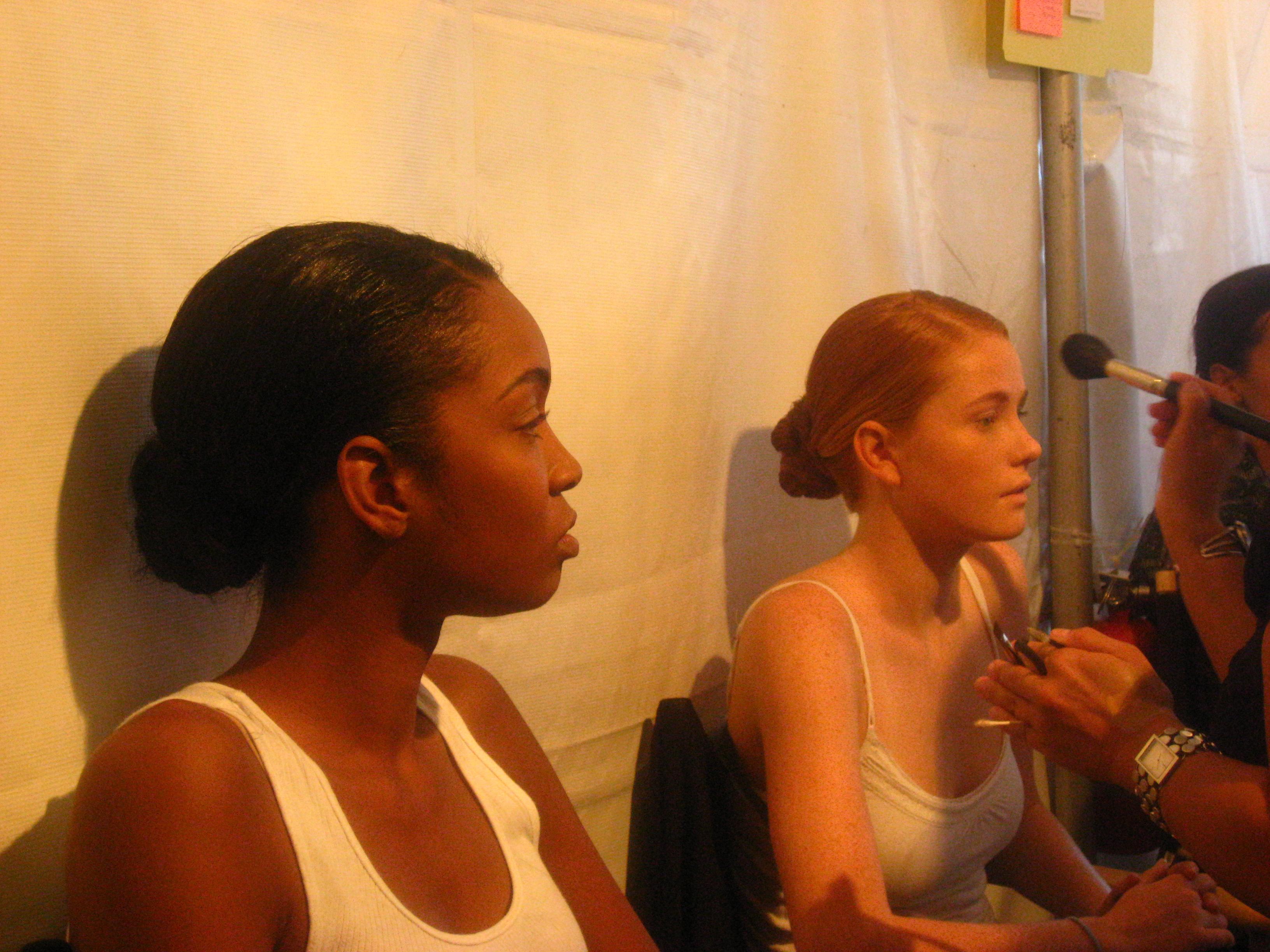 Backstage Beauty at San Francisco Fashion Week