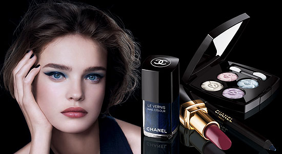 Chanel Spring 2008 Aurora Blues Makeup Collection
