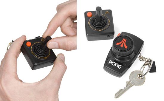 Atari Keychain: Totally Geeky or Geek Chic?