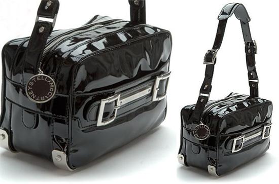 Luxurious Geek: Stella McCartney Patent Camera Bag