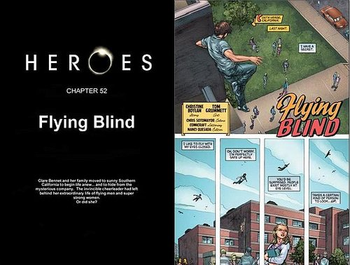 Do you read the Heroes graphic novels every week?