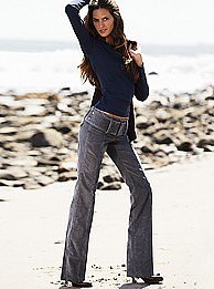 Victoria's Secret - The Kate Fit bootcut pant in vintage corduroy