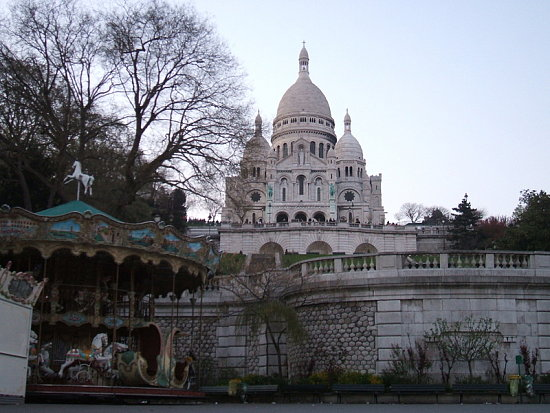 Pictures of Paris in April