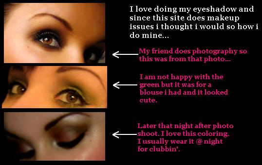 Eyeshadows...