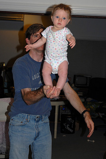 uncle cory and I doing our circus routine