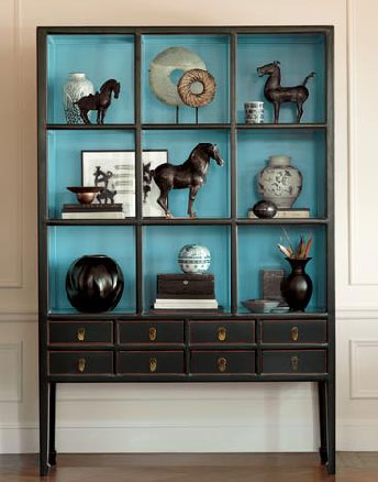 Crave Worthy: Gump's Cerulean Display Case