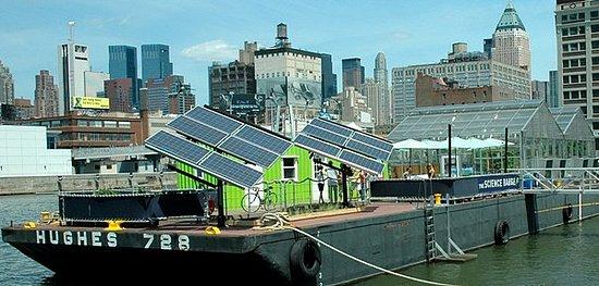 Cool Idea:  NYC's Floating Farm