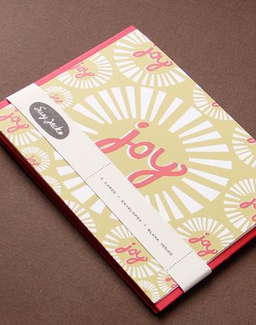 Holiday Card Guide: SusyJack* Joy Cards