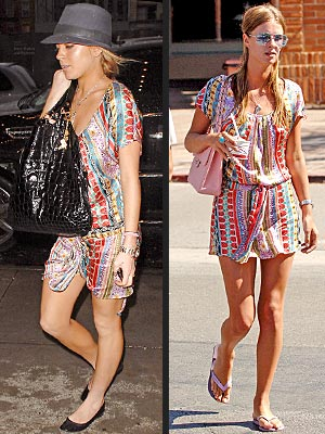 Fashion Faceoff: Lindsay Lohan vs. Nicky Hilton