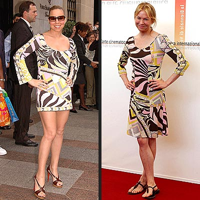 Fashion Faceoff: Mariah Carey vs. Renee Zellweger