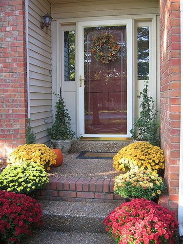 Fall Outdoors Decor - Front Door