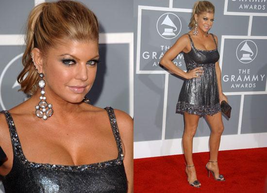 The Grammys Red Carpet: Fergie