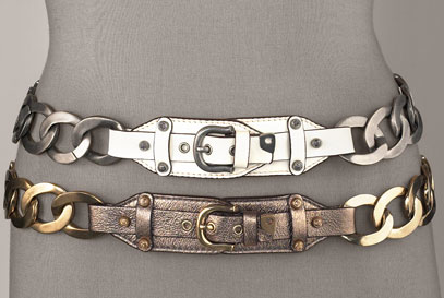 Trend Alert: Chain Belts