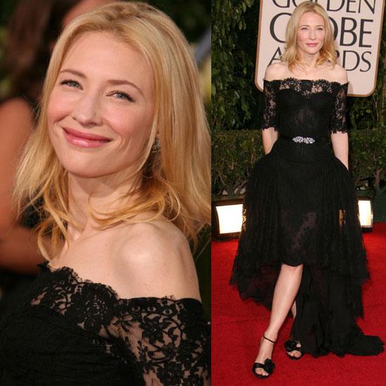 The Golden Globes Red Carpet: Cate Blanchett