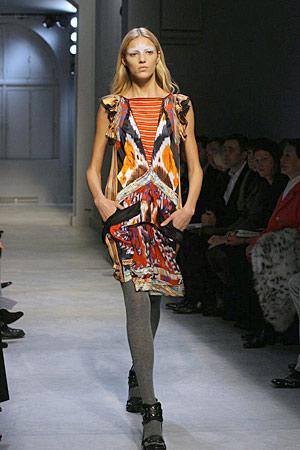Paris Fashion Week, Fall 2007: Balenciaga
