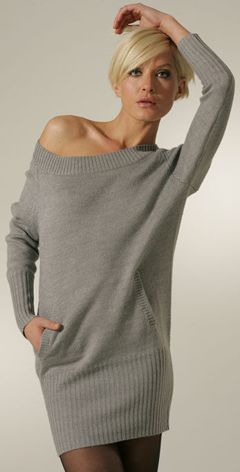 Surprisingly Flattering Sweater Dresses