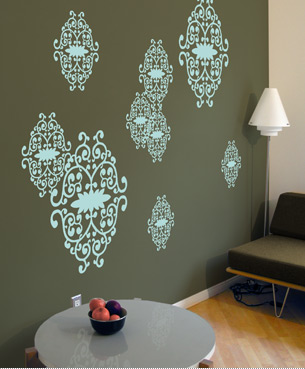 Stick-On Wall Style