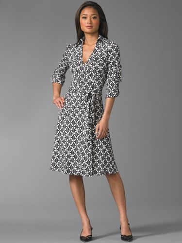 The Look For Less: DVF Wrap Dress