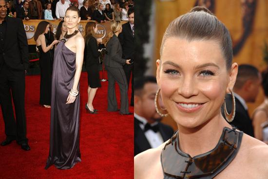 SAG Awards Red Carpet: Ellen Pompeo