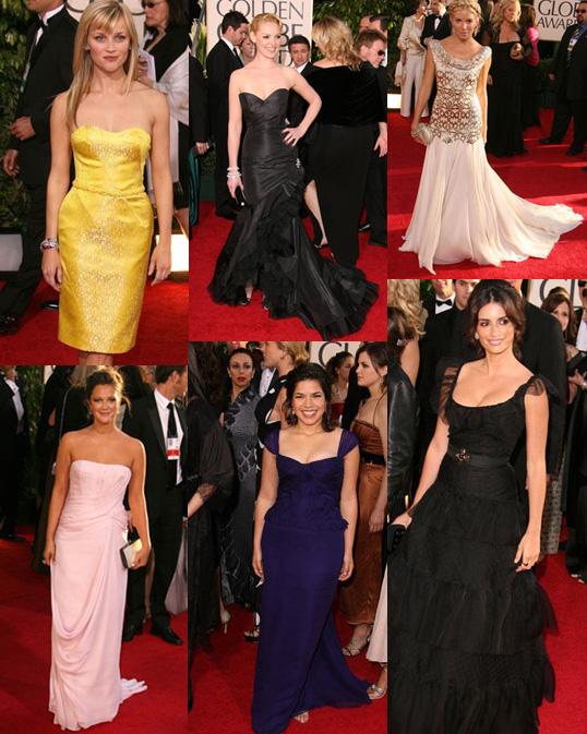 The Golden Globes Red Carpet: Best Dressed