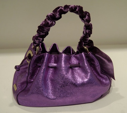 Kate Spade Fall 2007 Purple Metallic Handbag: Love It or Hate It?