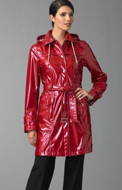 Burberry Red Patent Slicker: Love It or Hate It?
