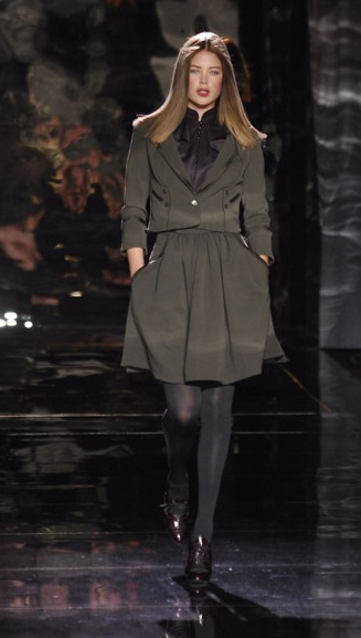 New York Fashion Week, Fall 2007:  Zac Posen