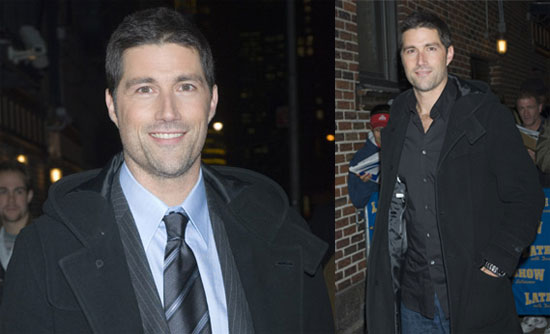 Matthew Fox Gets Into Character