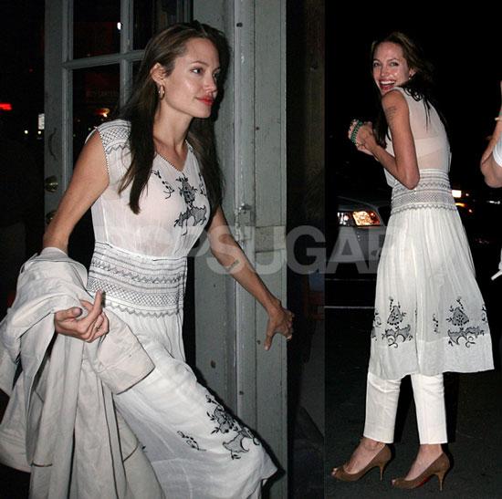 Angelina's Globe Dress Desires
