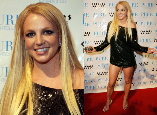 Britney Collapses in Vegas
