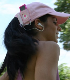 Running Hands Free with an iSound Cap