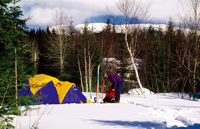 Get Physical:  Winter Camping
