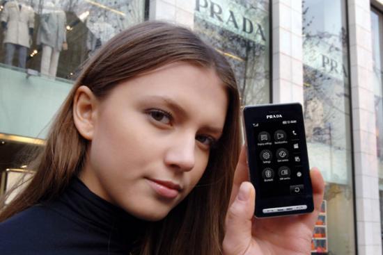 Prada's New Phone Photos Leaked?