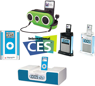 New iPod Alarm Clocks And Speaker Systems By iHome