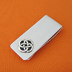 Valentine's Day Gift Idea's for HIM! - PatagoniaGifts.com Celtic Love Knot Money Clip