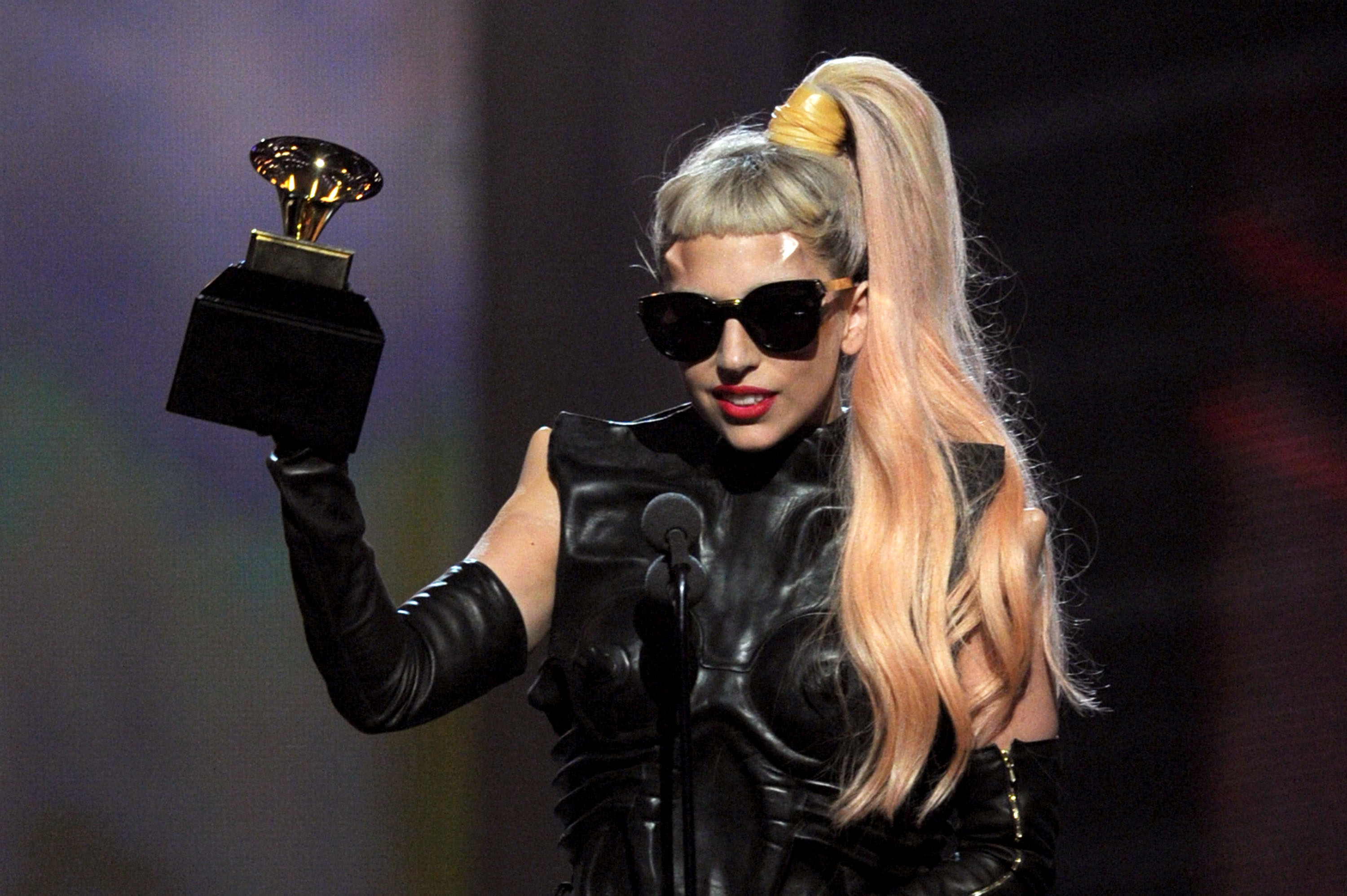 Lady Gaga Grammys: Pictures Of The 2011 Grammys Show With Gwyneth Paltrow