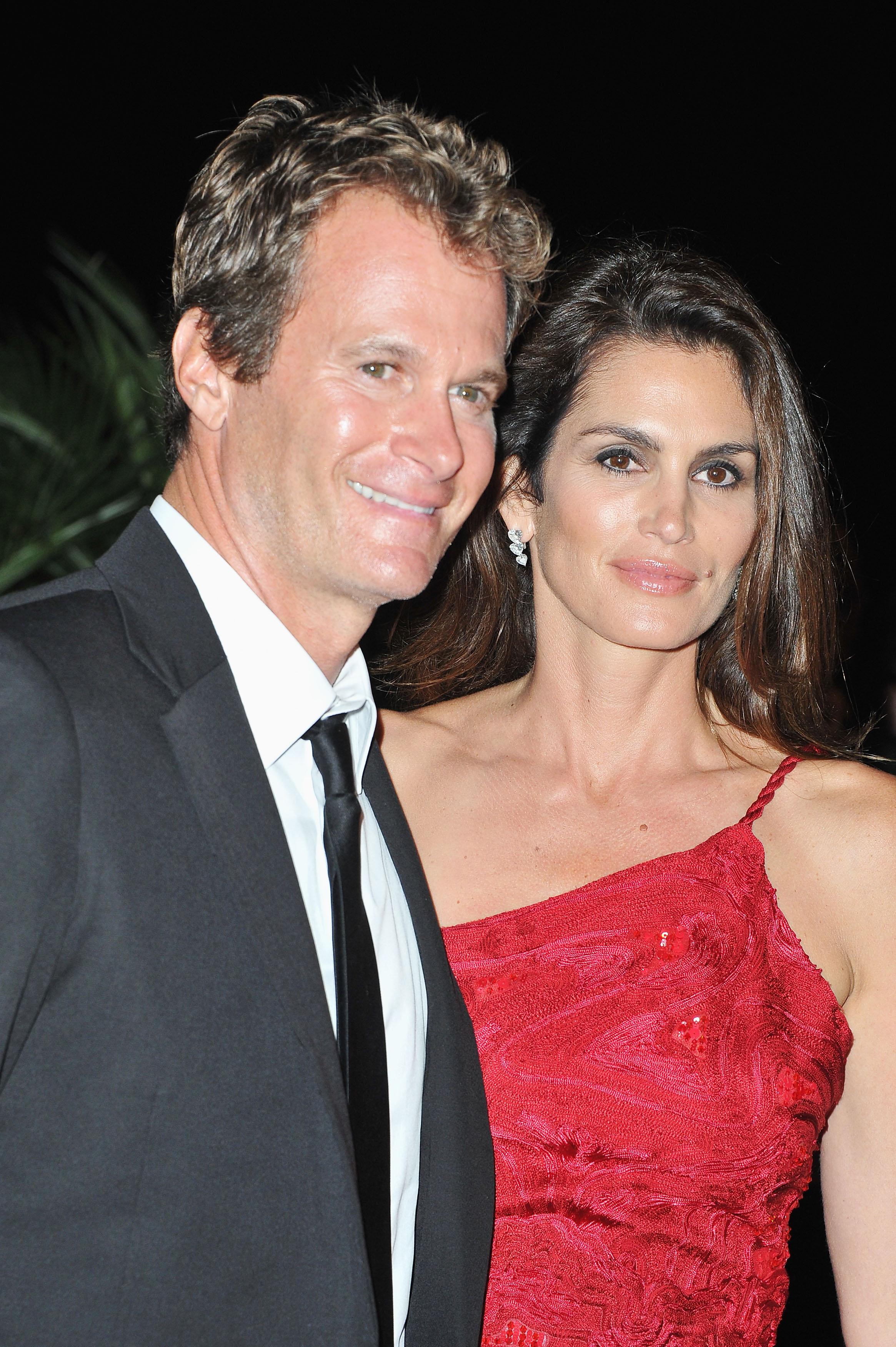 Rande Gerber and Cindy Crawford at the Venice Film Festival opening dinner.