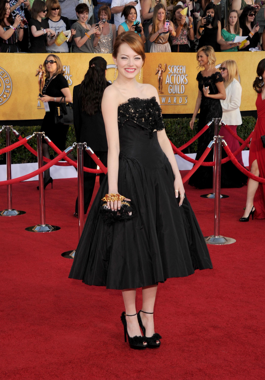 Emma Stone at the SAG Awards