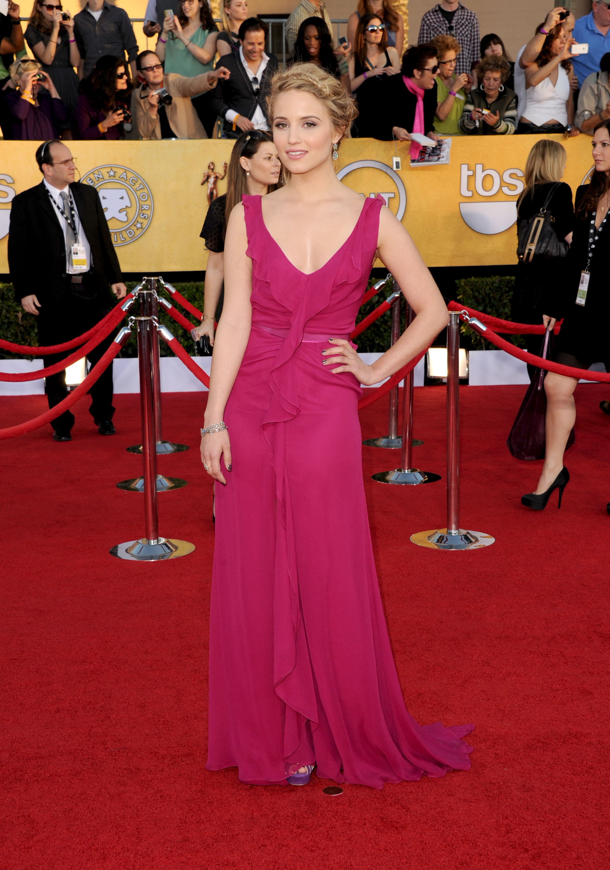 Dianna Agron at the SAG Awards