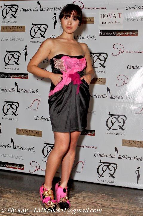 pamela quinzi dress  ny fashion week