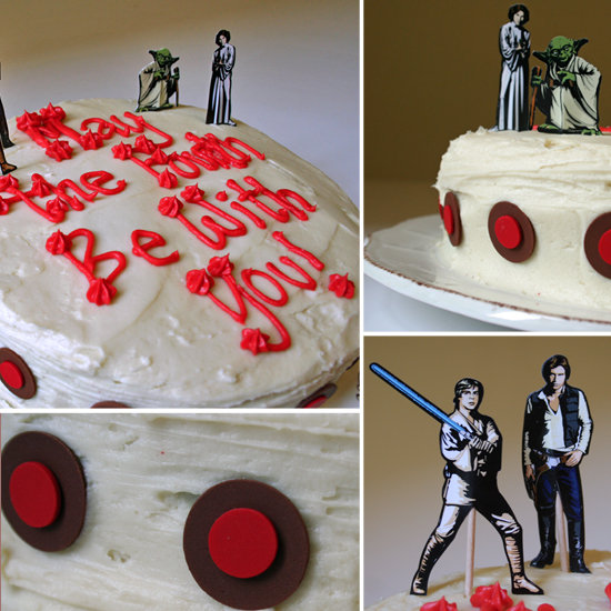 May The Fourth Be With You Treats: Star Wars Cake