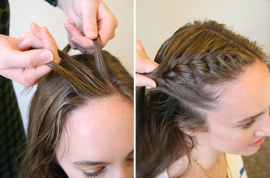 To acquire To braid french hair step by picture trends