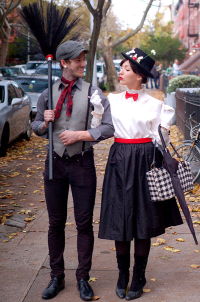 Bert and Mary Poppins