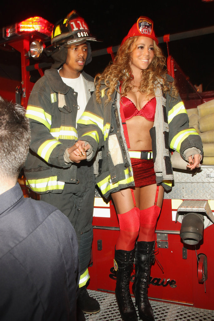 Mariah Carey and Nick Cannon as Firefighters  sc 1 st  Chaostrophic & 40+ Celebrity Couples Halloween Costumes u2013 Chaostrophic