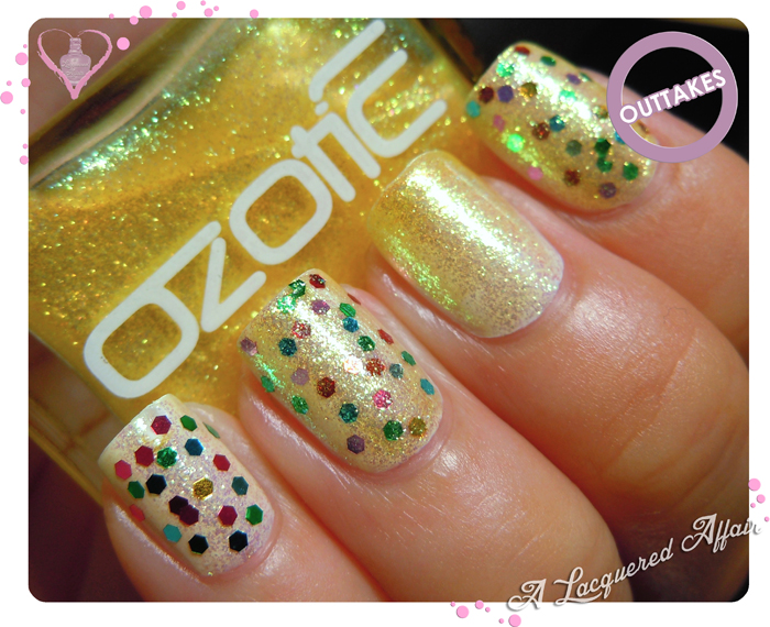 OZOTIC Sugar 904 glitter sandwich