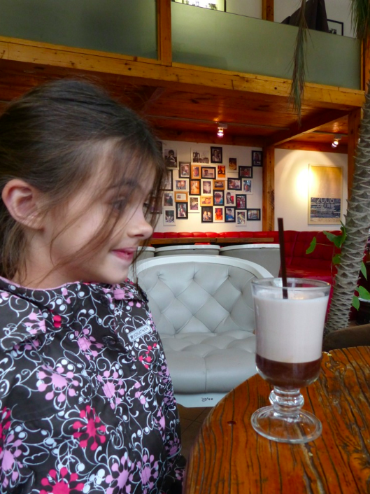 funky hot chocolate deserves a silly fave