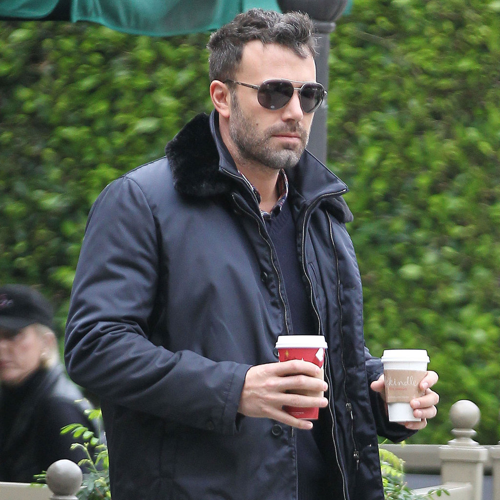 Ben Affleck at Starbucks Post-Halloween | Pictures ...