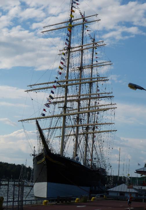 Museum ship Pommern