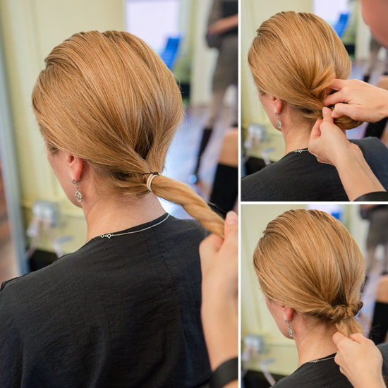 How To Do An Inside Out Ponytail Popsugar Beauty